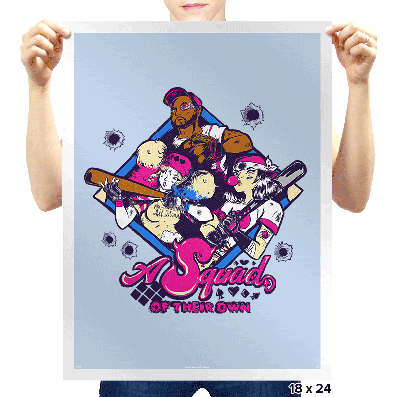 A Squad Of Their Own Exclusive - Prints - Posters - RIPT Apparel