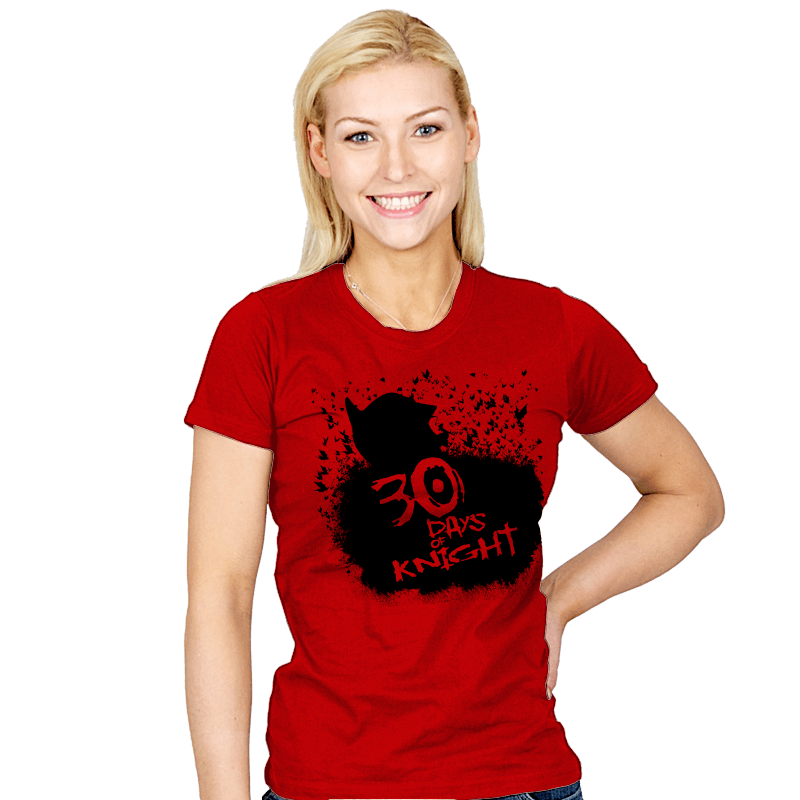 30 Days of Knight Exclusive - Womens - T-Shirts - RIPT Apparel