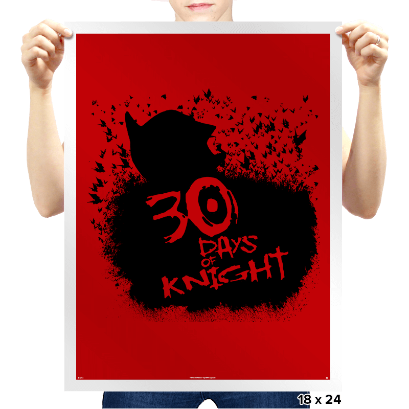 30 Days of Knight Exclusive - Prints - Posters - RIPT Apparel
