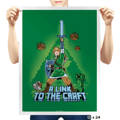 A Link To The Craft Exclusive - Prints - Posters - RIPT Apparel