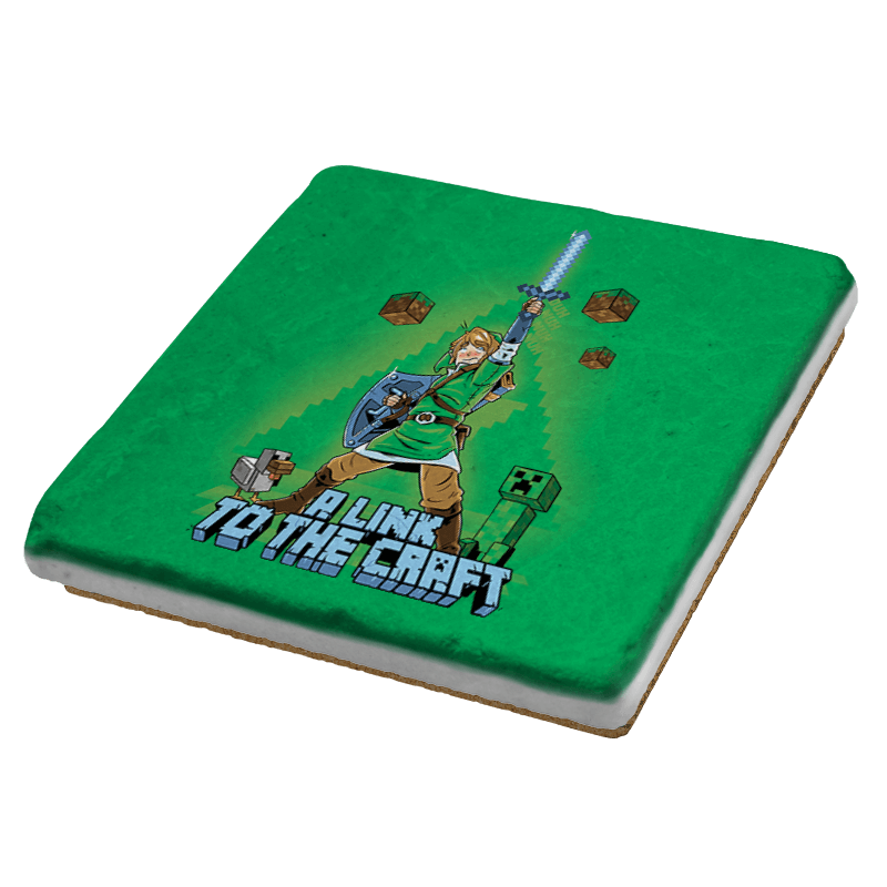 A Link To The Craft Exclusive - Coasters - Coasters - RIPT Apparel