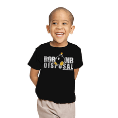 Bob-omb Disposal Exclusive - Youth - T-Shirts - RIPT Apparel