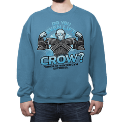 Do You Even Lift, Crow? Exclusive - Crew Neck - Crew Neck - RIPT Apparel