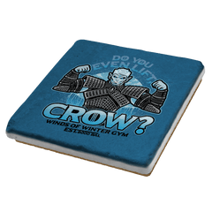 Do You Even Lift, Crow? Exclusive - Coasters - Coasters - RIPT Apparel