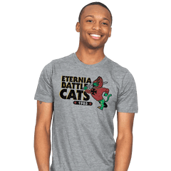 Eternia Battle Cats Exclusive - Mens - T-Shirts - RIPT Apparel