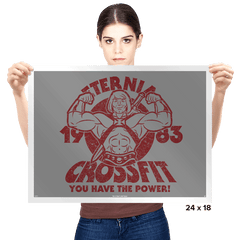 Eternia Crossfit Exclusive - Prints - Posters - RIPT Apparel