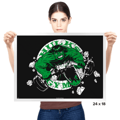 Hulk's Gym Exclusive - Prints - Posters - RIPT Apparel