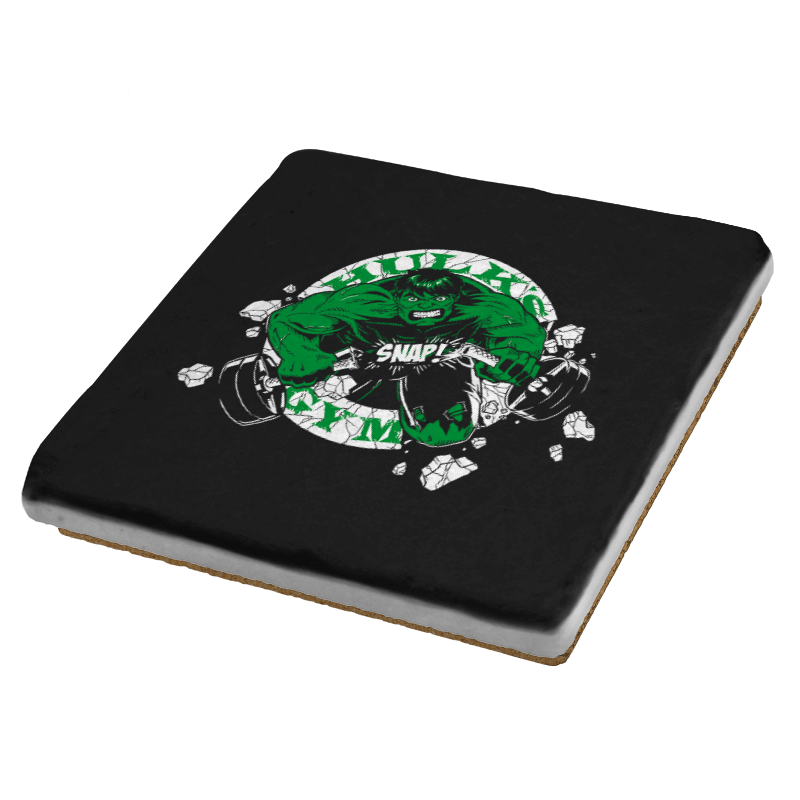 Hulk's Gym Exclusive - Coasters - Coasters - RIPT Apparel