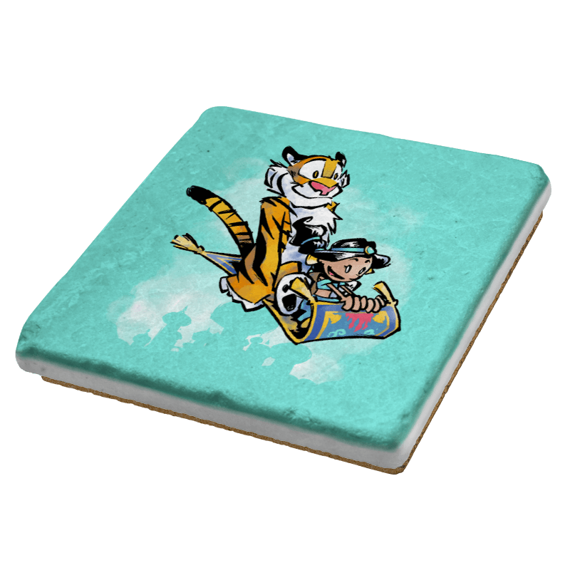 Jasmine and Rajah Exclusive - Coasters - Coasters - RIPT Apparel