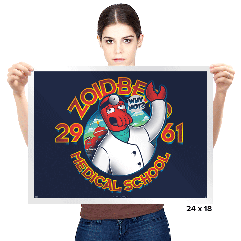 Med. School Of The Future Exclusive - Prints - Posters - RIPT Apparel