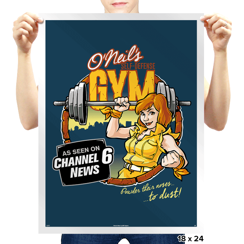 O'Neil's Self Defense Gym Exclusive - Prints - Posters - RIPT Apparel