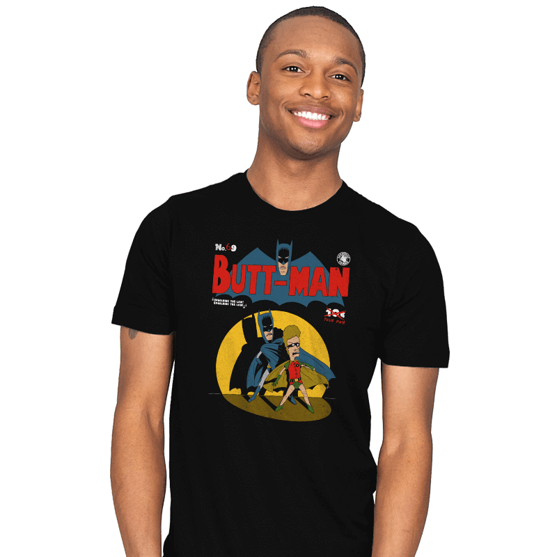 Butt-Man - Mens - T-Shirts - RIPT Apparel