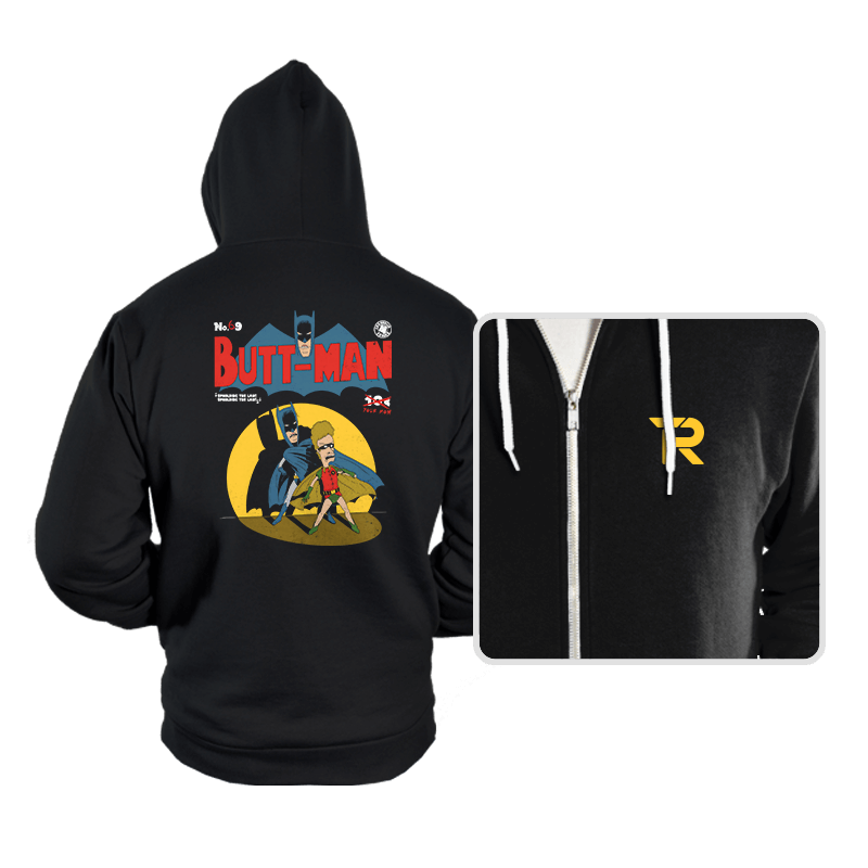 Butt-Man - Hoodies - Hoodies - RIPT Apparel
