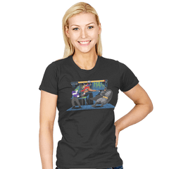 Bat Fight - Womens - T-Shirts - RIPT Apparel
