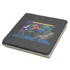 Bat Fight - Coasters - Coasters - RIPT Apparel