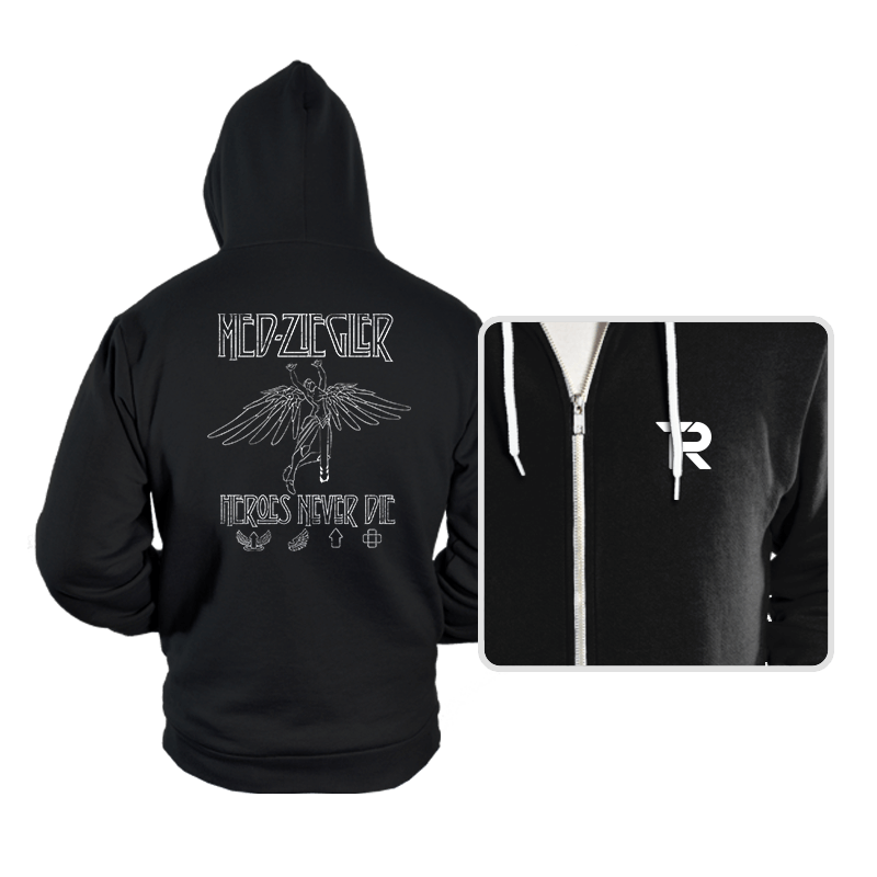 Heroes Never Die - Hoodies - Hoodies - RIPT Apparel