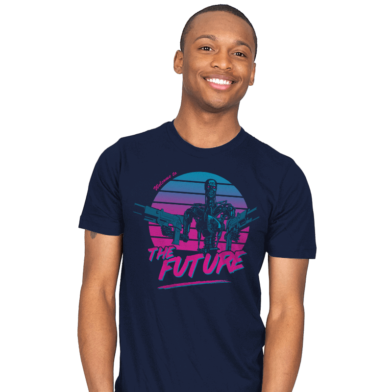 Welcome to the Future - Mens - T-Shirts - RIPT Apparel