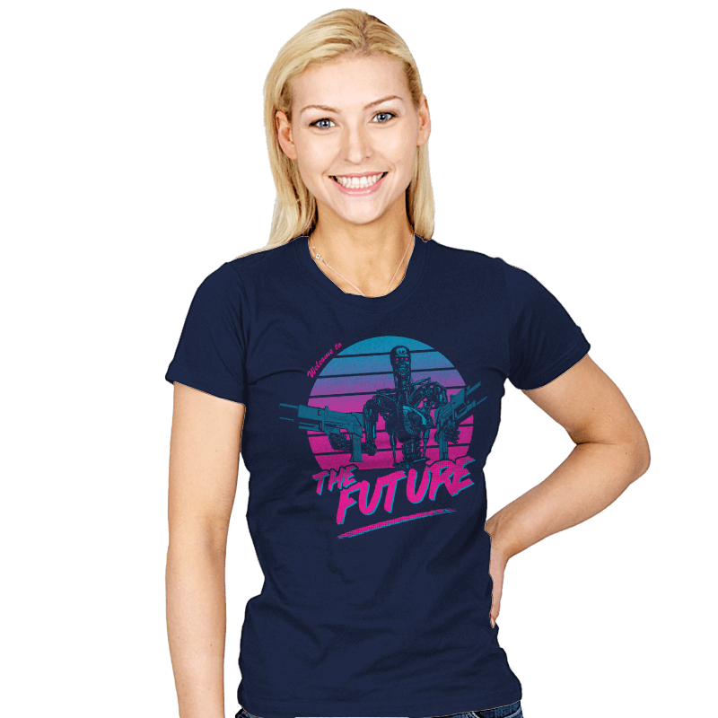 Welcome to the Future - Womens - T-Shirts - RIPT Apparel