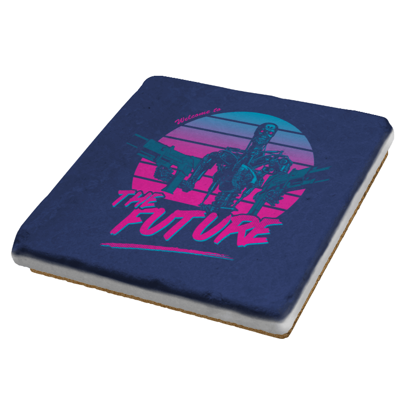 Welcome to the Future - Coasters - Coasters - RIPT Apparel
