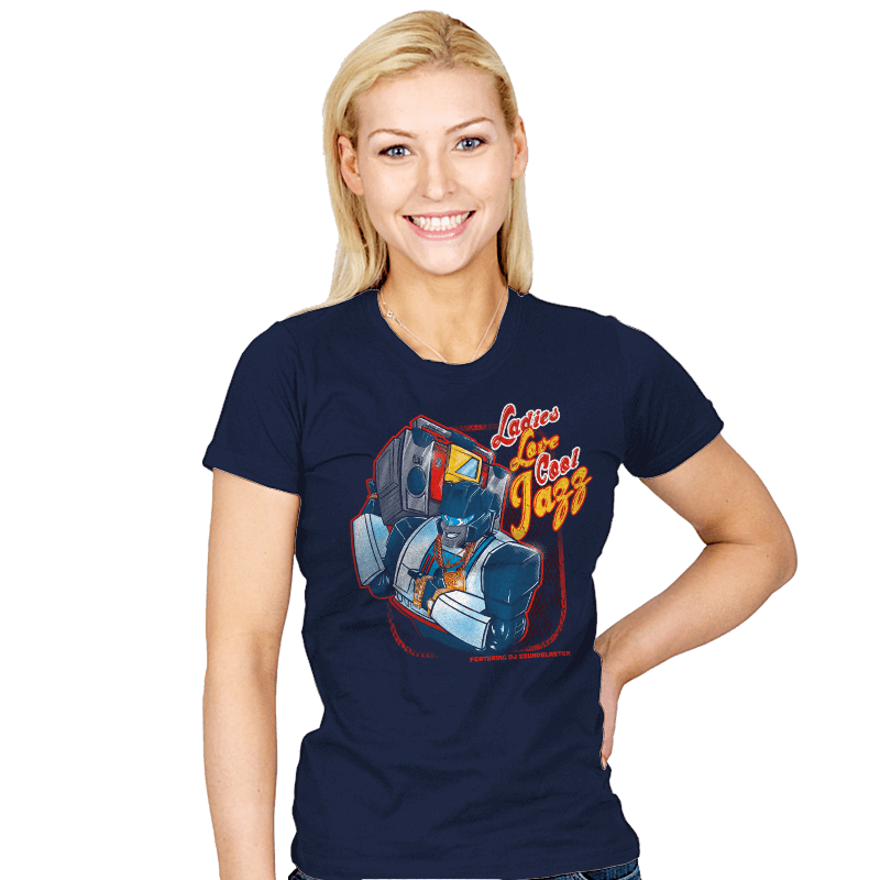 LLCool Jazz - Womens - T-Shirts - RIPT Apparel