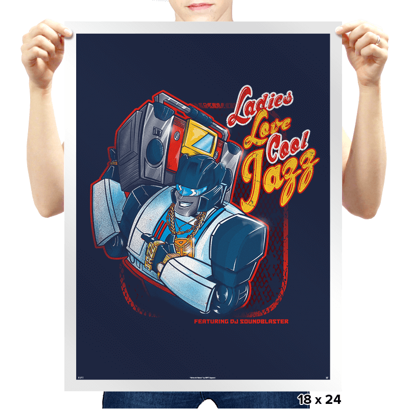 LLCool Jazz - Prints - Posters - RIPT Apparel
