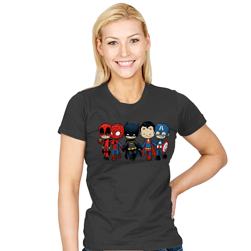 Super Cross Over Bros - Womens - T-Shirts - RIPT Apparel