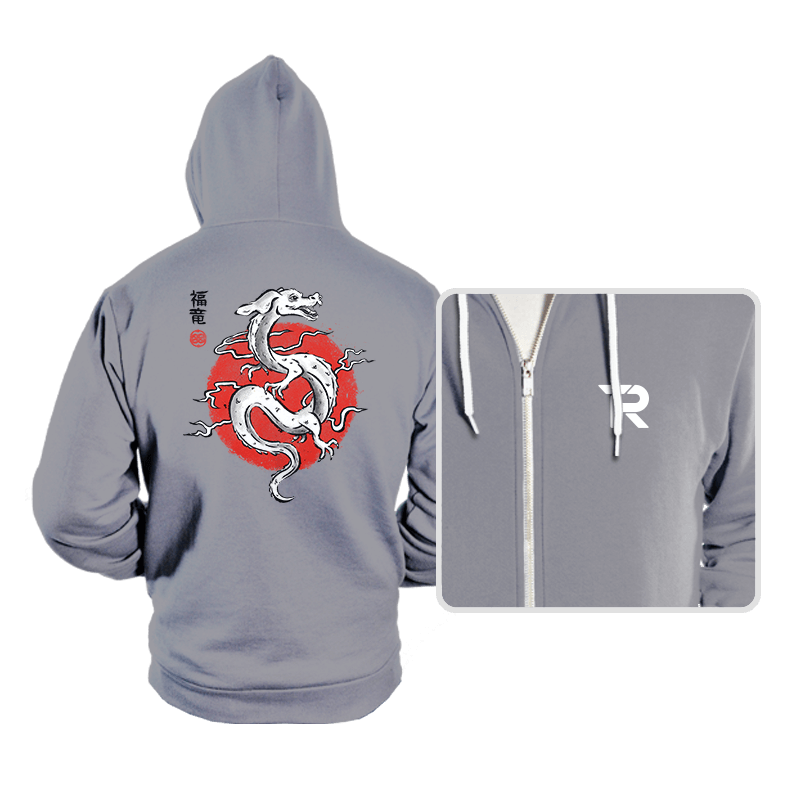 Ink Fukuryu - Hoodies - Hoodies - RIPT Apparel