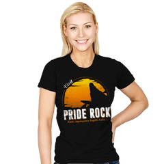 Visit Pride Rock - Womens - T-Shirts - RIPT Apparel