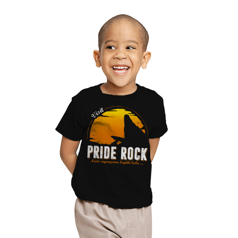 Visit Pride Rock - Youth - T-Shirts - RIPT Apparel