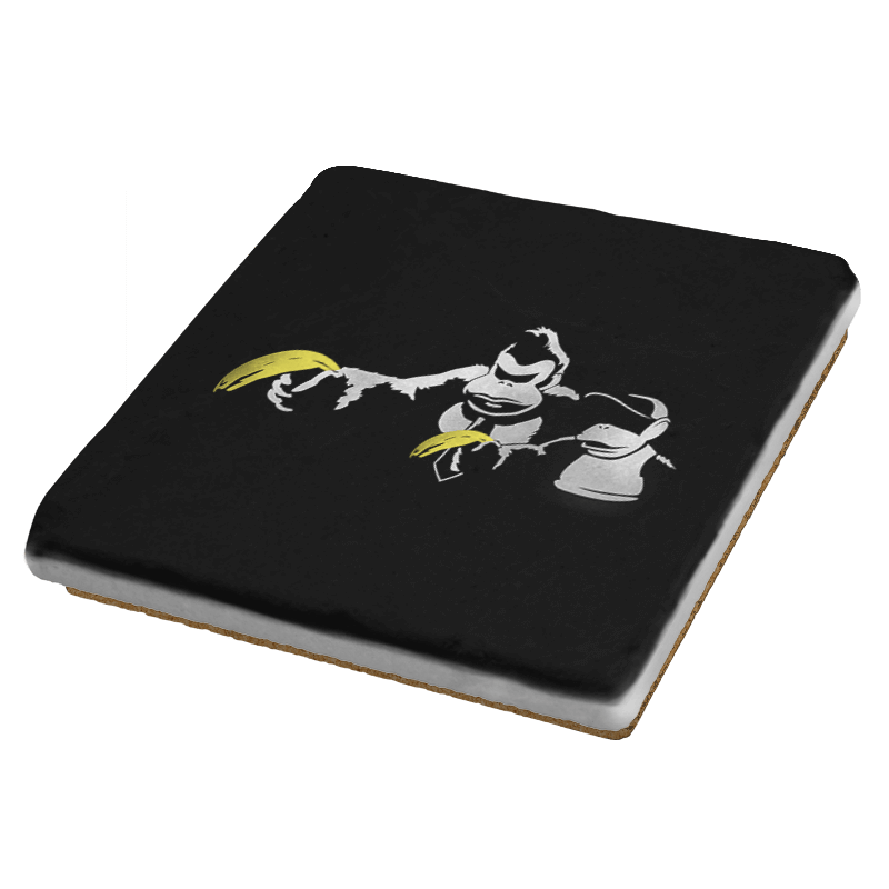 Kong Fiction - Coasters - Coasters - RIPT Apparel