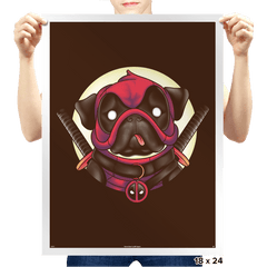 Pugpool - Prints - Posters - RIPT Apparel
