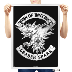 Sons of Instinct - Prints - Posters - RIPT Apparel