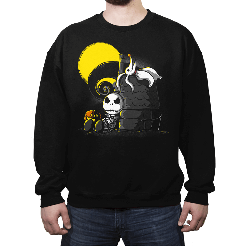 Friends of Nightmare - Crew Neck Sweatshirt - Crew Neck Sweatshirt - RIPT Apparel