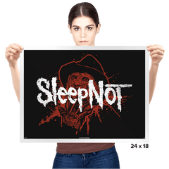 Sleep Not - Prints - Posters - RIPT Apparel