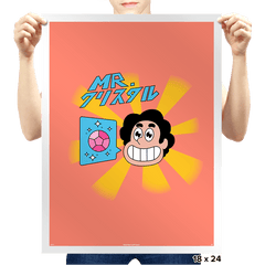 Mr. Crystal - Prints - Posters - RIPT Apparel