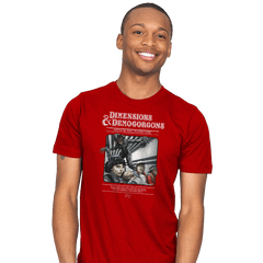 Dimensions & Demogorgons - Mens - T-Shirts - RIPT Apparel