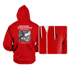 Dimensions & Demogorgons - Hoodies - Hoodies - RIPT Apparel