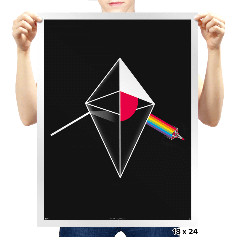 No Man's Side of the Moon - Prints - Posters - RIPT Apparel