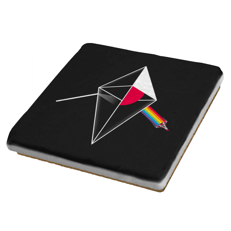 No Man's Side of the Moon - Coasters - Coasters - RIPT Apparel