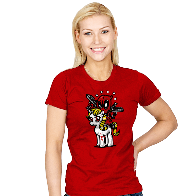 A Merc, 2 Guns, & A Unicorn - Womens - T-Shirts - RIPT Apparel