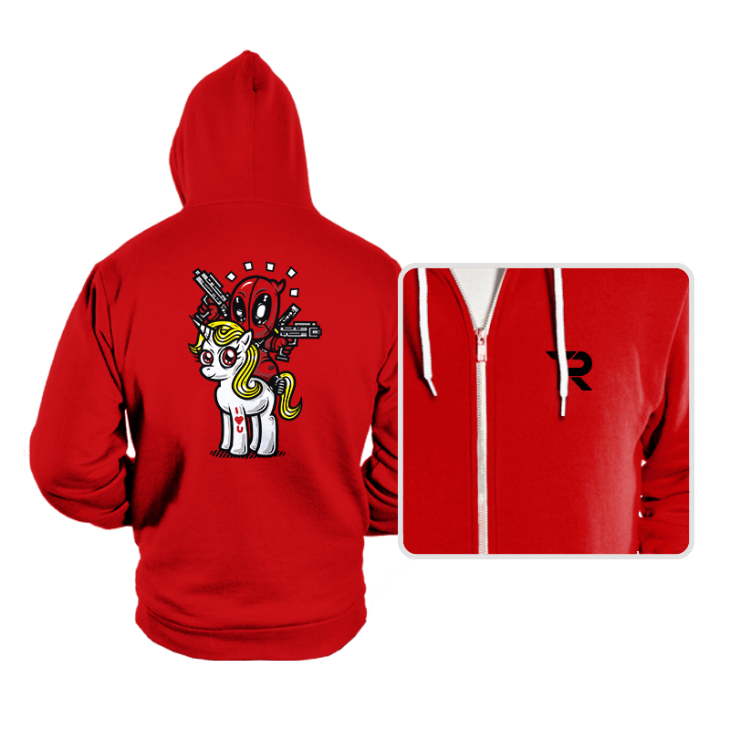 A Merc, 2 Guns, & A Unicorn - Hoodies - Hoodies - RIPT Apparel