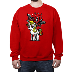 A Merc, 2 Guns, & A Unicorn - Crew Neck - Crew Neck - RIPT Apparel