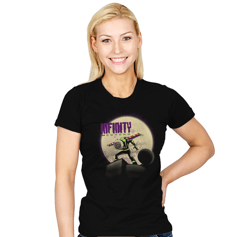 Beyond Infinity  - Womens - T-Shirts - RIPT Apparel