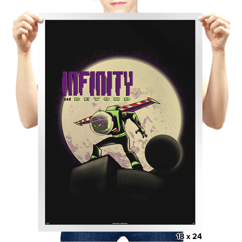 Beyond Infinity  - Prints - Posters - RIPT Apparel