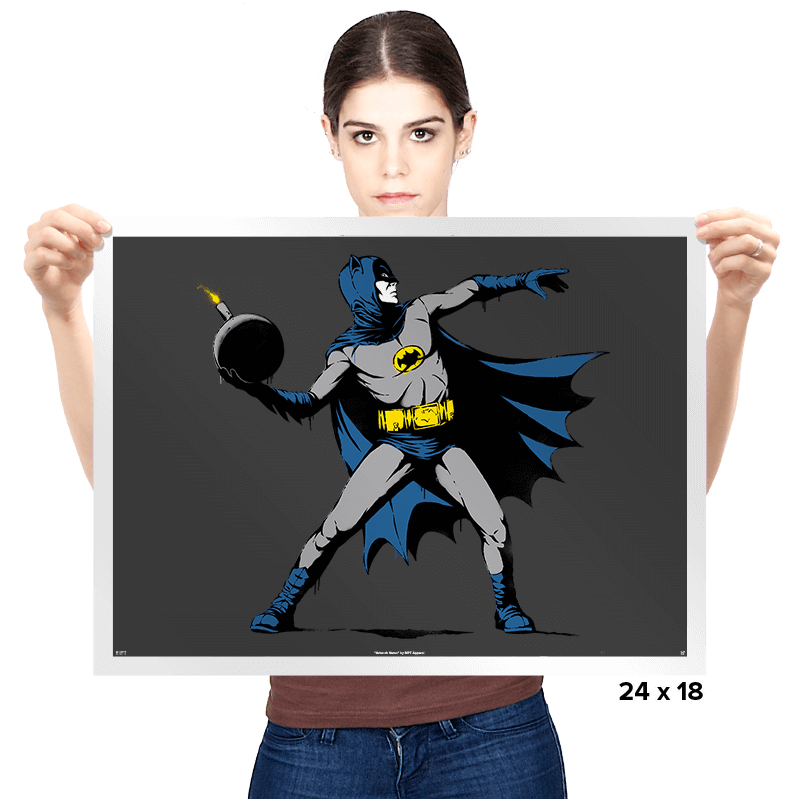 Batsy - Prints - Posters - RIPT Apparel