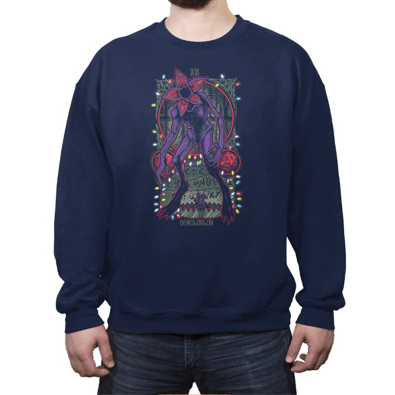 The Demogorgon Tarot Card - Crew Neck - Crew Neck - RIPT Apparel