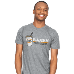 Ramen: Budget Approved - Mens - T-Shirts - RIPT Apparel