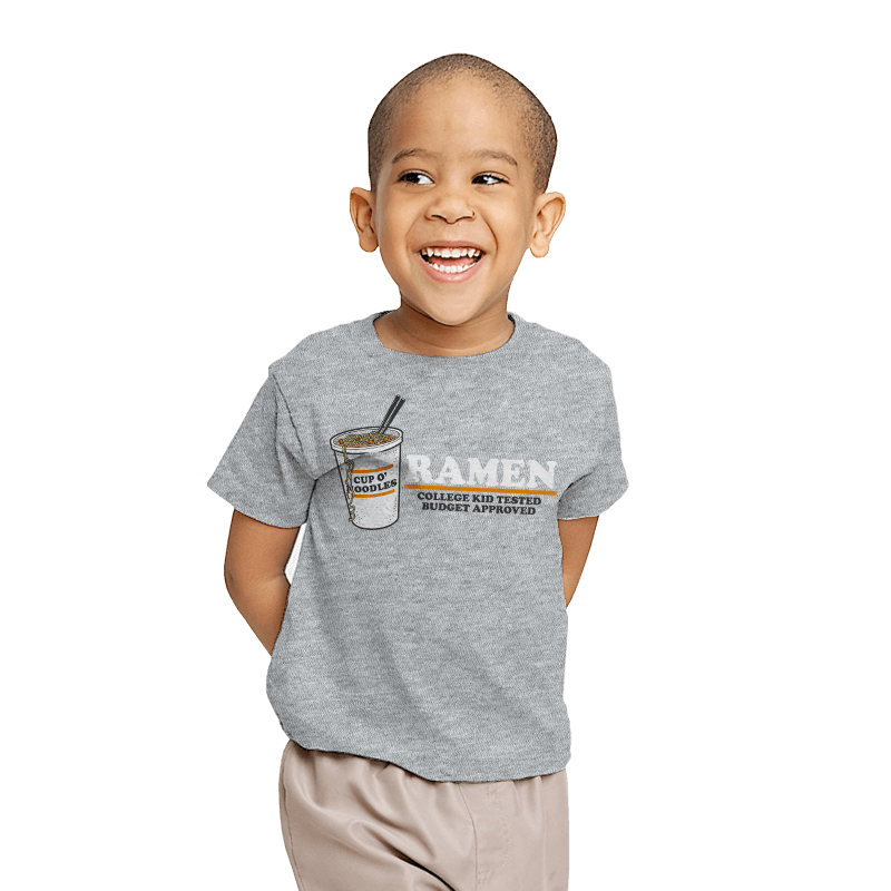 Ramen: Budget Approved - Youth - T-Shirts - RIPT Apparel