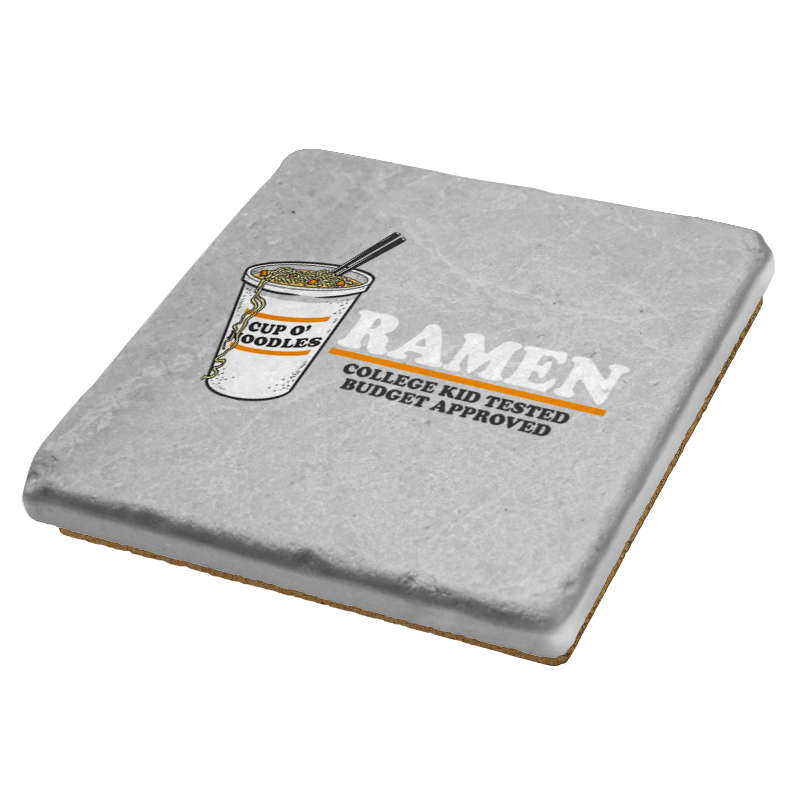 Ramen: Budget Approved - Coasters - Coasters - RIPT Apparel