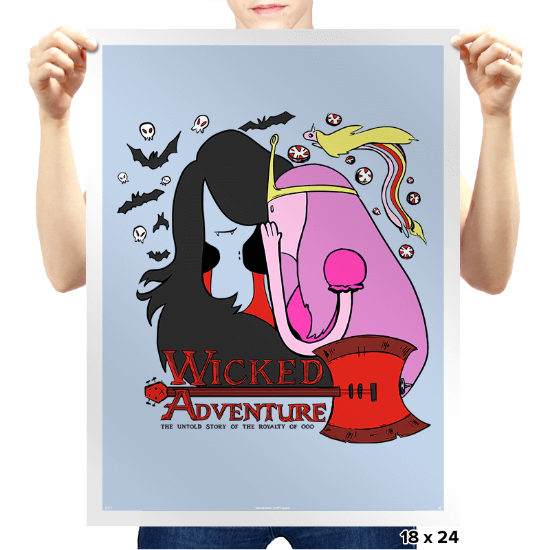 Wicked Adventure - Prints - Posters - RIPT Apparel